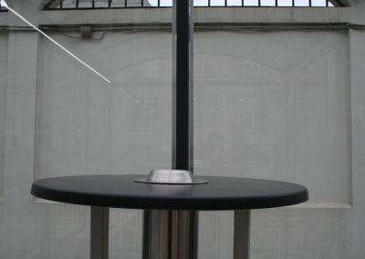 popielnica stół