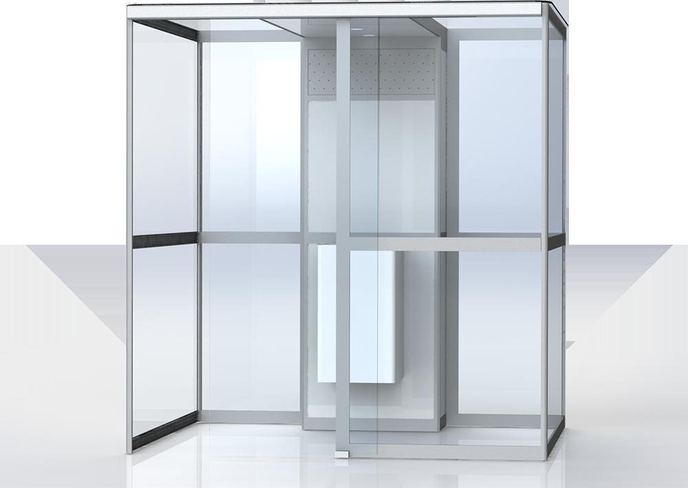 palarnia wewnętrzna kabina